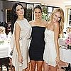 Pictures of Adriana Lima, Alessandra Ambrosio, and Candice Swanapoel at a Victoria's Secret Luncheon in LA