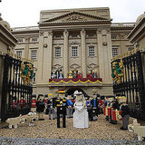 Pictures of the Lego Prince William and Kate Royal Wedding Diorama