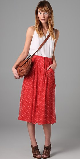 The Loveliest Red Skirt