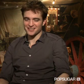 Video Interview With Robert Pattinson on Breaking Dawn, Water for Elephants, Reese Witherspoon, Romance