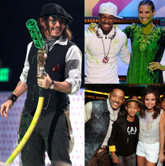 Photos From the 2011 Nickelodeon Kids' Choice Awards Show