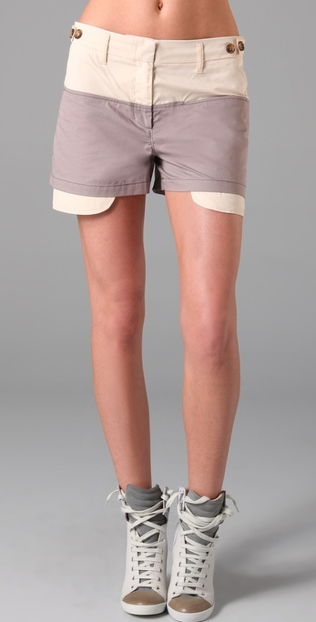See by Chloe Exposed Pocket Shorts ($250)