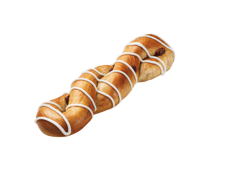 Cinnamon Raisin Bagel Twist ($1.39)