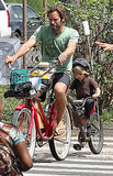 Jack Johnson Breaks From Tour to Ride Bikes With His Son