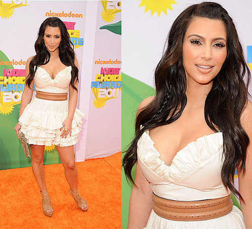 Kim Kardashian at the Kids' Choice Awards 2011