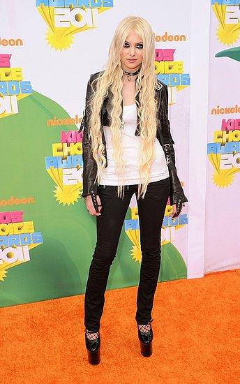 Taylor Momsen(2011 Kids' Choice Awards)
