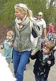 Gwyneth Paltrow Takes Moses and His Friends For an Early Birthday at Legoland