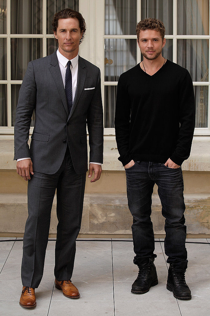 Matthew McConaughey and Ryan Phillippe Take Their Film to France