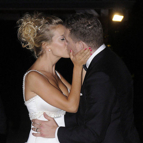 Pictures of Michael Buble With Luisana Lopilato in Her Wedding Gown in Argentina