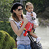Pictures of Ellen Pompeo With Stella Ivery Walking