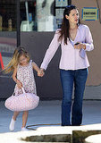 Jennifer Garner Steps Out With Violet Affleck Back in LA