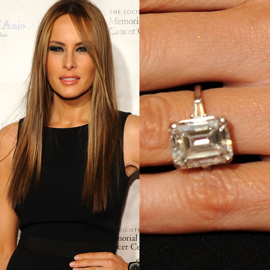 Melania Trump engagement rings