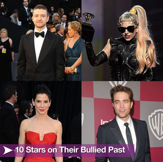 10 Stars on Their Bullied Past