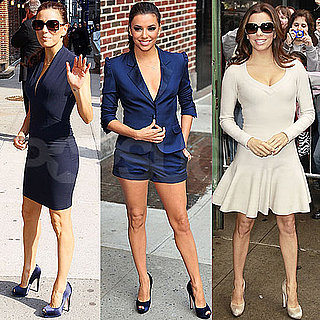 Pictures of Eva Longoria Promoting Book in NYC