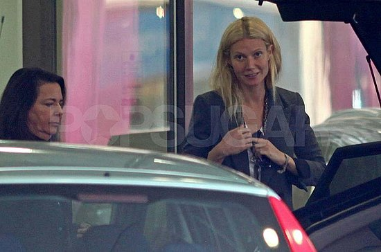 Gwyneth Paltrow Steps Out Without Her Birthday Boy