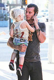 Gwen Stefani Dines With Her Fun-Loving Family