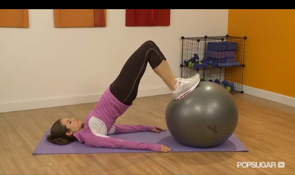 Tone Your Abs and Booty With Two Easy Moves