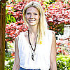 Pictures of Gwyneth Paltrow at Marie Curie Hospice in London