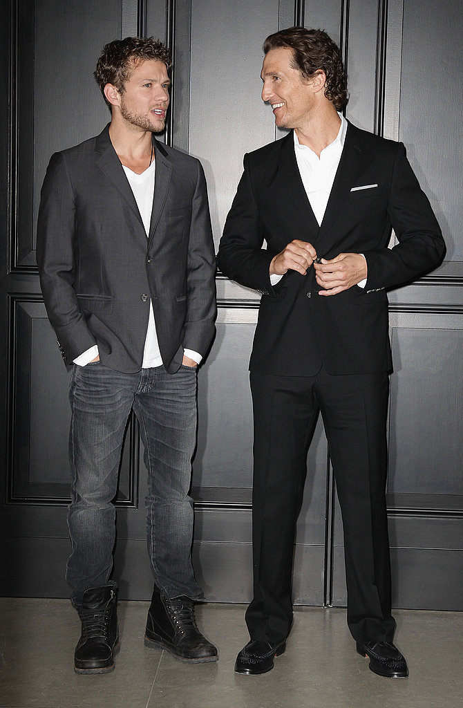 Matthew McConaughey and Ryan Phillippe Bring Their Bright Smiles and Sexy Suits to Berlin