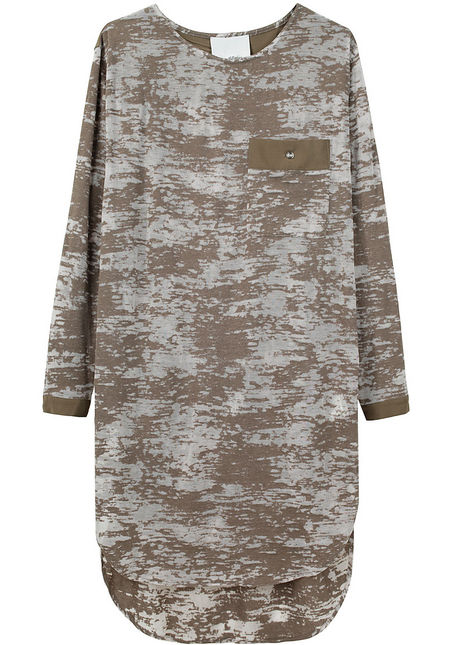3.1 Phillip Lim Long Sleeved Burnout Dress ($275)