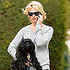 January Jones Pictures With Dog