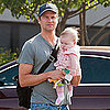 Pictures of Neil Patrick Harris's Boyfriend David Burtka With Baby Harper in LA