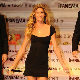 Pictures of Gisele Bundchen in Istanbul