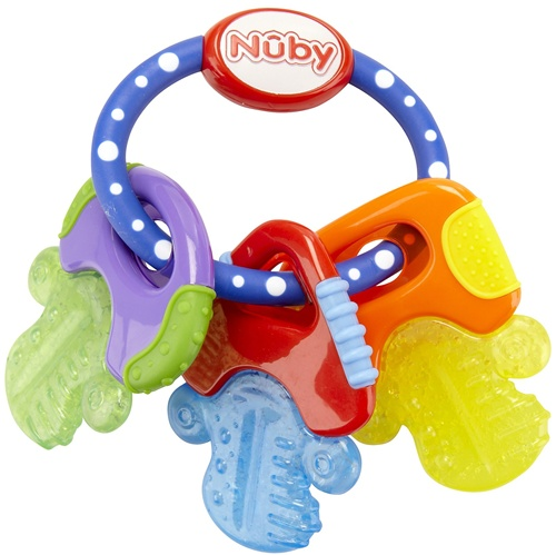 Nuby Icy Bite Teething Key Ring