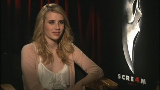 "Video: Emma Roberts on ""New Decade, New Rules"" and ""Reinventing Horror"" in Scream 4!"
