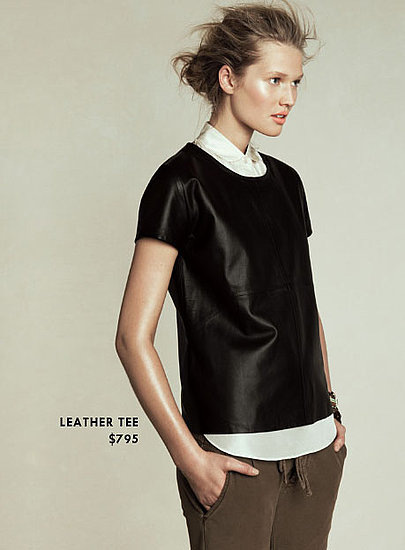 Skip: Leather Tee ($795) Why: While we adore leather looks, a leather t-shirt is one better gotten for half this price. Shop faux versions in this style, and make bigger investments on leather toppers that you'll keep for seasons, like a classic leather jacket.