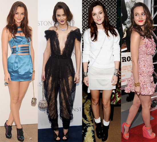 We admired birthday girl Leighton Meester's style.