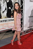 2010, Screening of Country Strong