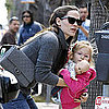 Jennifer Garner and Violet Affleck Pictures