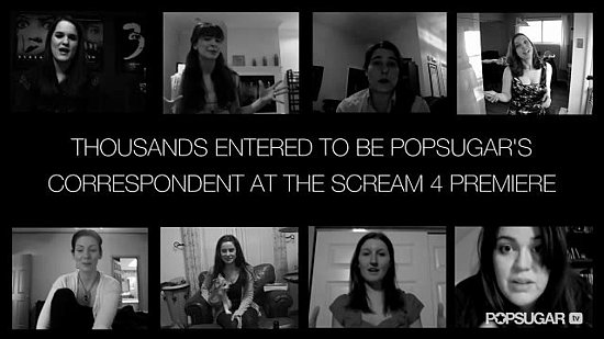 Scream 4: The PopSugar Red Carpet Experience!