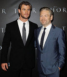 Chris Hemsworth and Kenneth Branagh