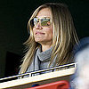 Cameron Diaz at a Yankees Vs. Red Sox Game With Joanna Garcia