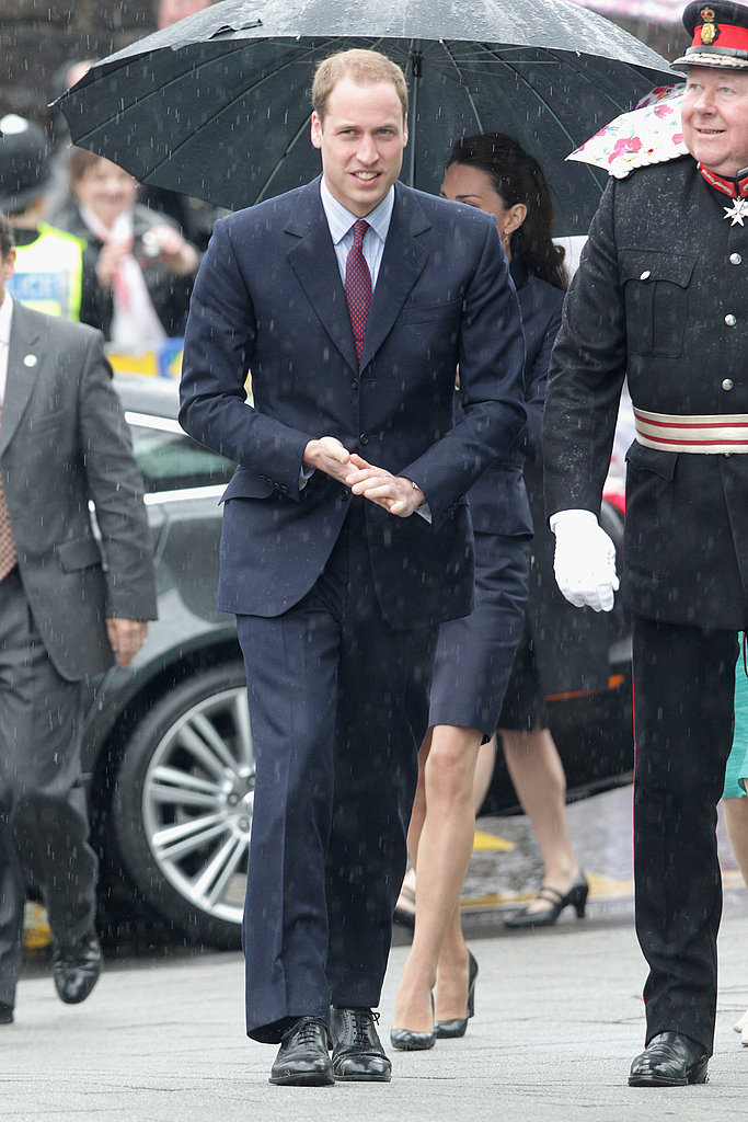 Kate Middleton and Prince William Step Out For One of Their Last Prewedding Appearances