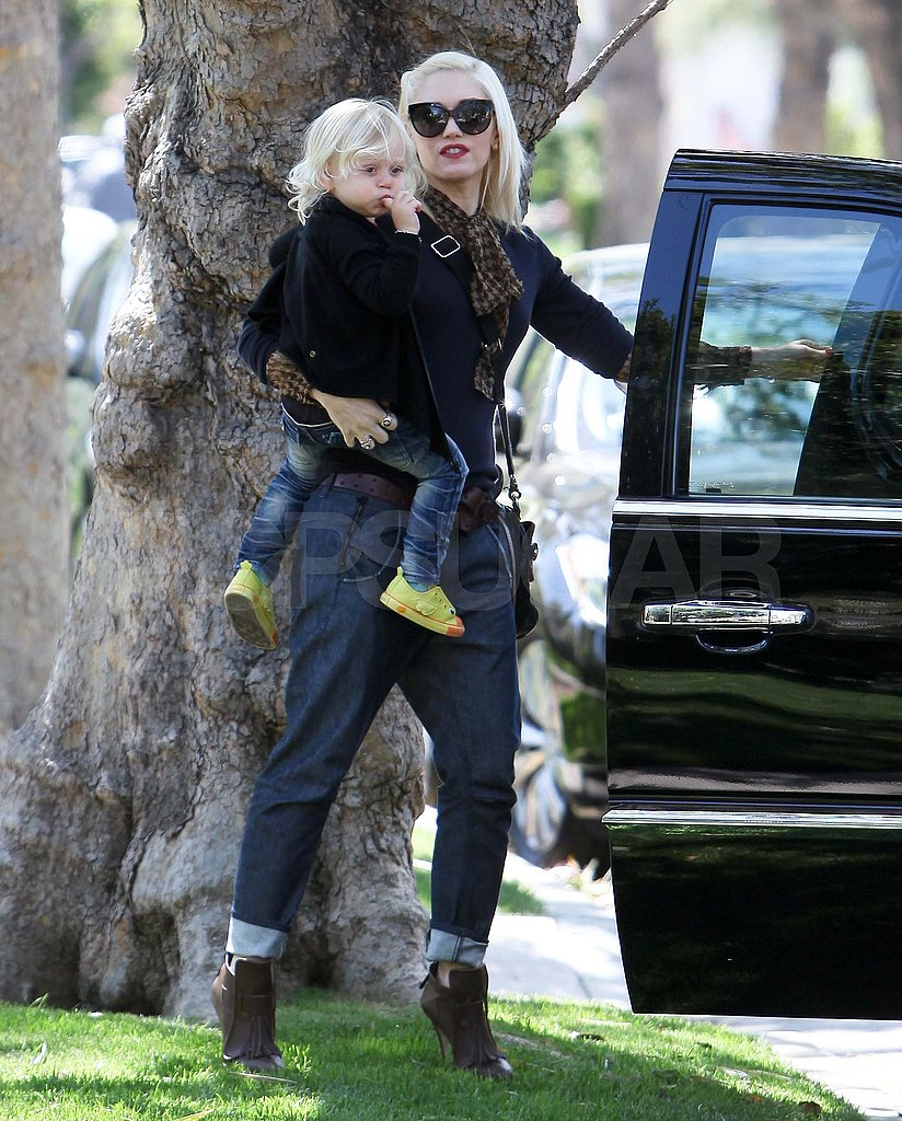 Gwen Stefani and Her Family Have a Wild Weekend at the Zoo