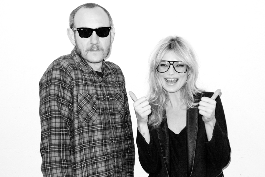 Terry Richardson and Kate Moss