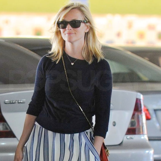 Reese Returns to LA Following a Honeymoon Getaway to Belize!