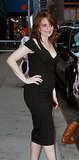 Tina Fey Dares to Bare Her Baby Bump in a Tight Black Dress!