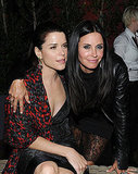 Courteney Hits Scream 4's After Party With Josh, Kristen, Dax, and More Cougar Town Costars