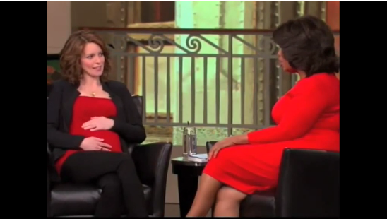 "Video: Tina Fey Makes Oprah ""LOL"" About Bossypants and New Babies"