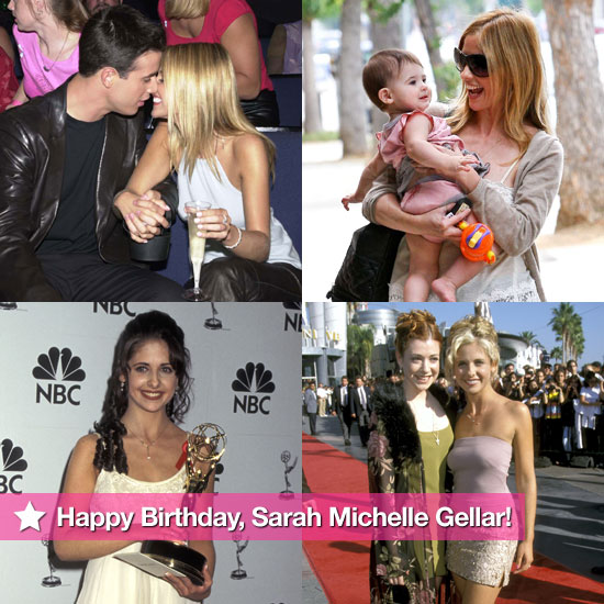 Pictures of Sarah Michelle Gellar 34 Birthday