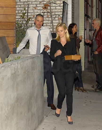 Exclusive: Reese Witherspoon and Jim Toth's First Postwedding Photos on Romantic Date!