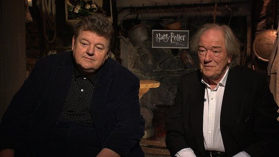 Michael Gambon and Robbie Coltrane (AKA Dumbledore and Hagrid) on Harry Potter and Fart Machines