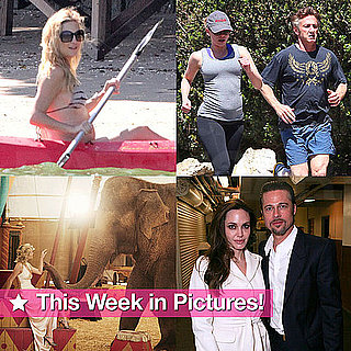 Angelina and Brad's Date Night, Kate Hudson's Beach Baby Bump, and More in This Week in Pictures!