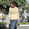 Katie Holmes Stops in LA Pictures