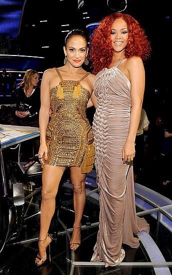 Jennifer Lopez and Rihanna