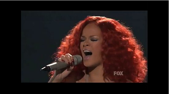 "Rihanna Performs ""California King Bed"" on American Idol"